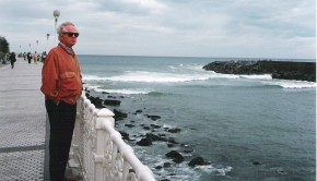 Francisco Ferrer Lerín - San Sebastián 2005: Estancia para la presentación de la novela Níquel.