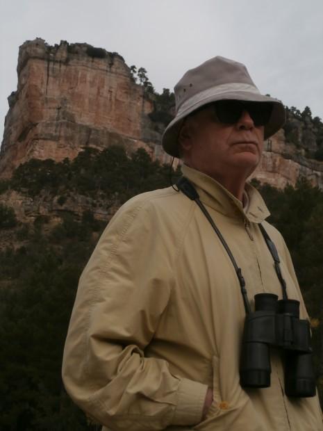 Francisco Ferrer Lerín - Uña 2013: Prospección ornitológica. Fotografía de Félix Ruiz de Haro.